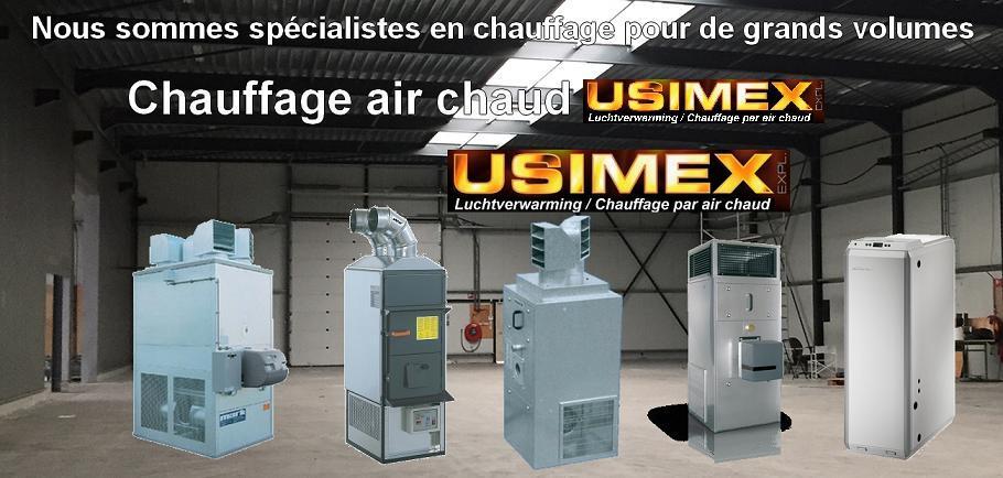 Usimex  Votre Spcialiste Pour Chauffage Par Air Chaud